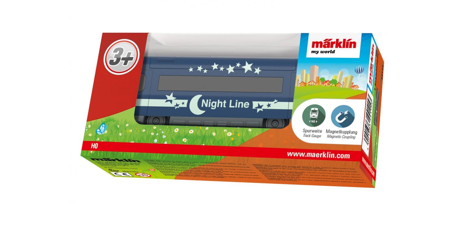 """44115 Märklin my world - """"Night Line"""" Sleeping Car"""