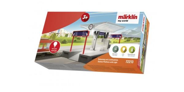 72213 Märklin my world – Station Platform with Light