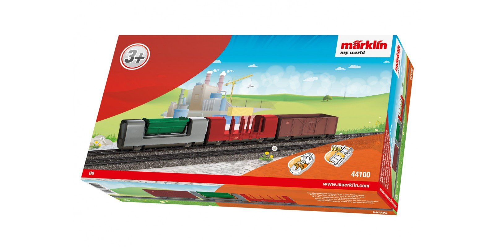 44100 Add-On Car Set for the Freight Train
