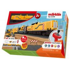 """29341 Märklin my world - """"Construction Site Train"""" Starter Set"""