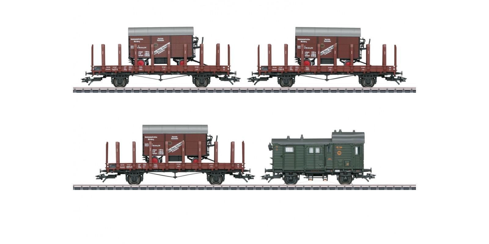 48829 Freight Car Set