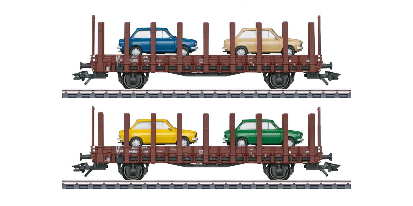 "46404 ""DAF 66"" Flat Car Set"