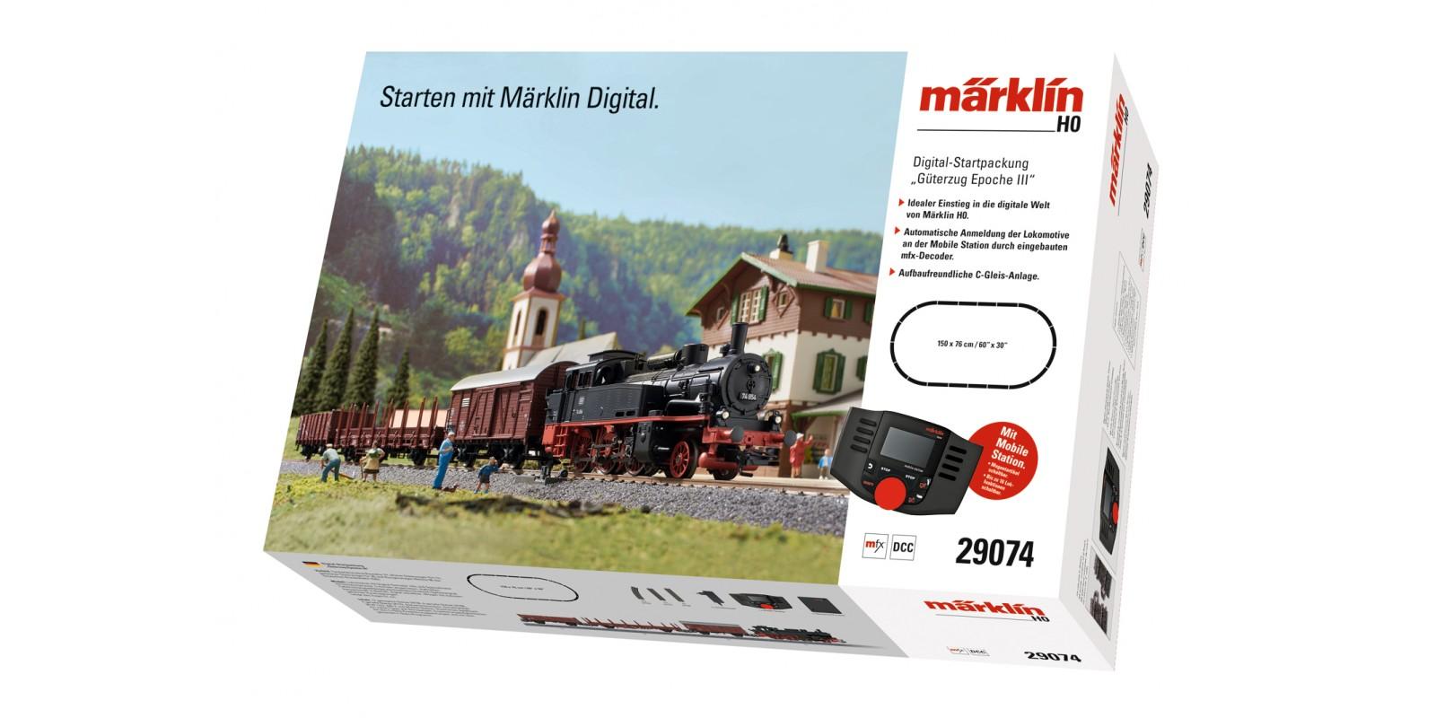 "29074 ""Era III Freight Train"" Digital Starter Set"