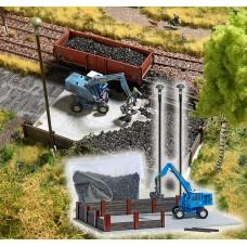 BU1045 Coal Stockpile with Excavator