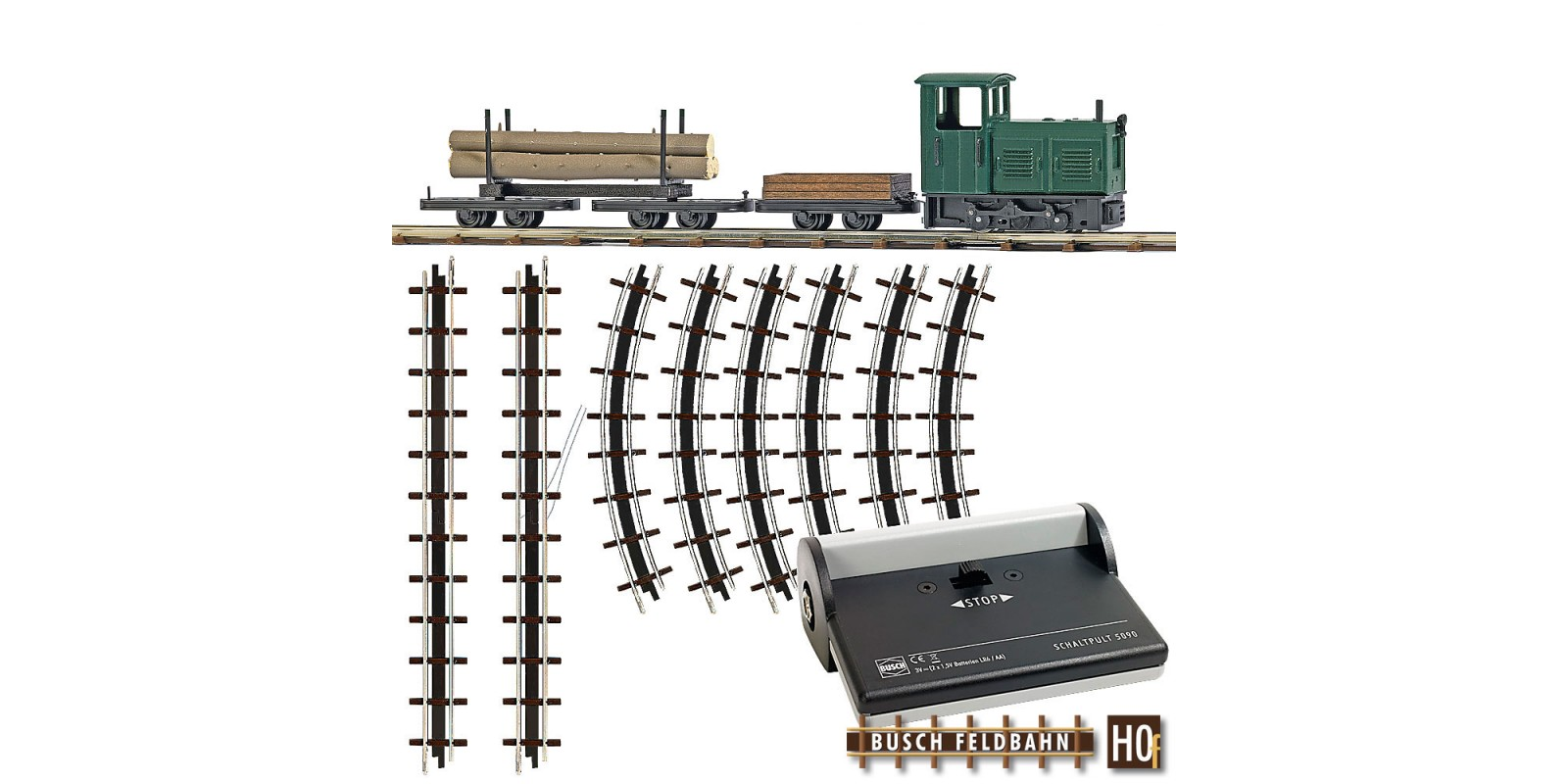 BU12003 Starter Set - Lumber Train