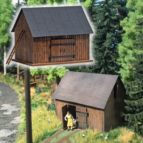 BU1500 Wooden Barn