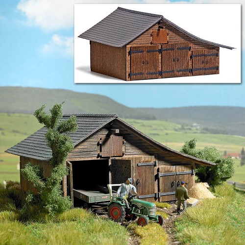 BU1508 Wooden Barn