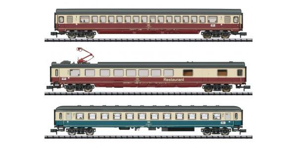 "T15459 ""IC 611 Gutenberg"" Express Train Passenger Car Set"