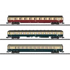"T15460 ""IC 611 Gutenberg"" Express Train Passenger Car Set"