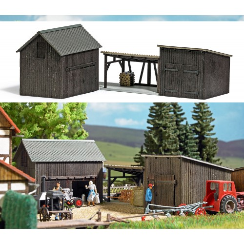 BU1595 Wooden Sheds and Shelter