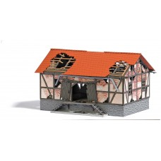 BU1664 Decayed freight shed , 128 x 85 x 75 mm
