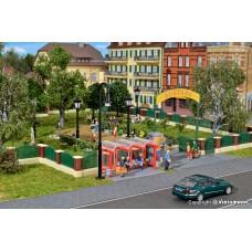 KI38601 Deco-set Fence for English garden