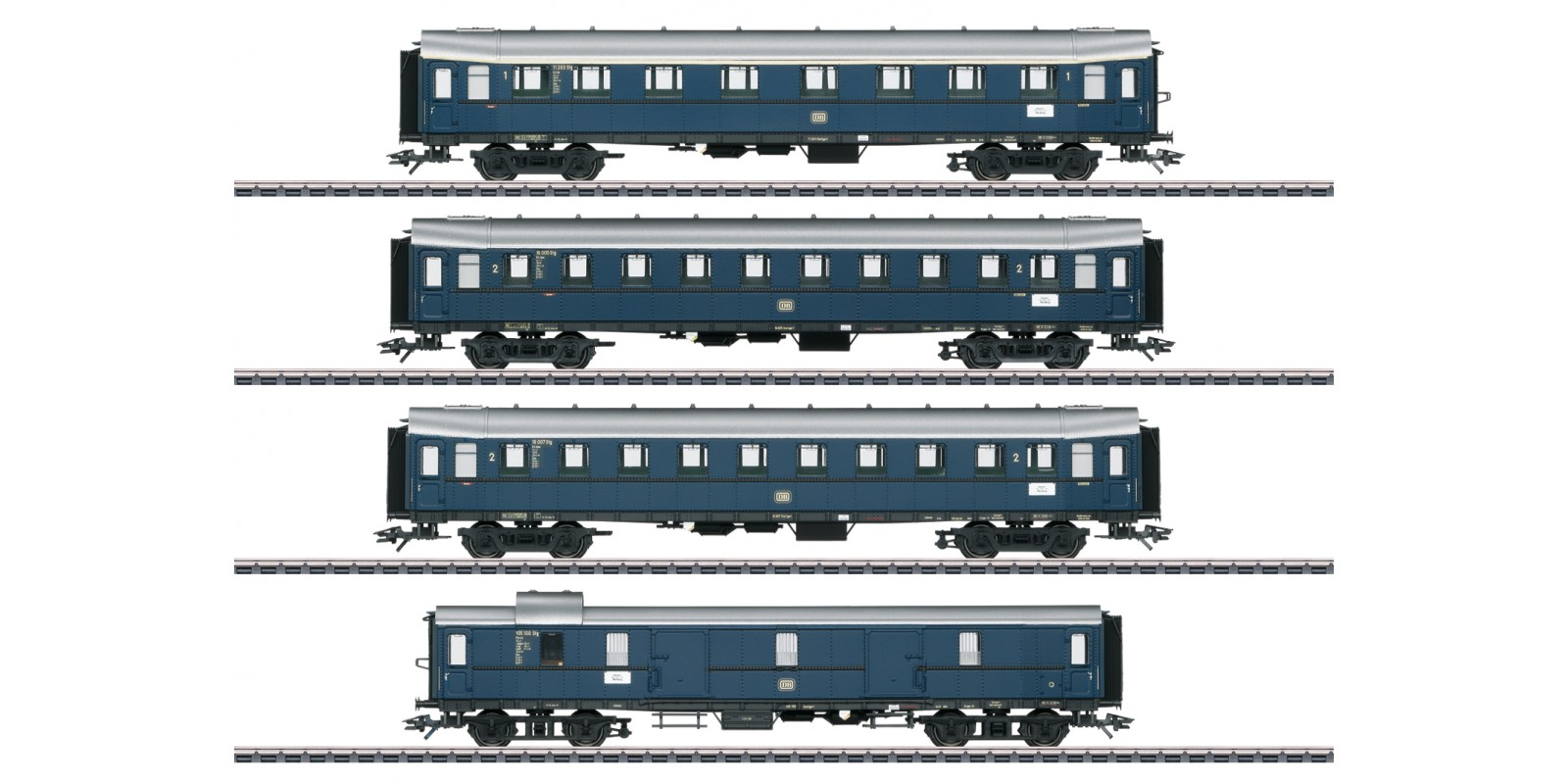 042228 Express Train Passenger Car Set for the Class E 17