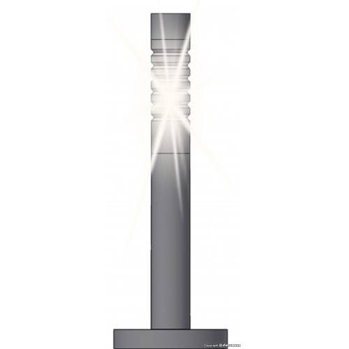 VI6162  Modern bollard lights, LED white, 3 pieces