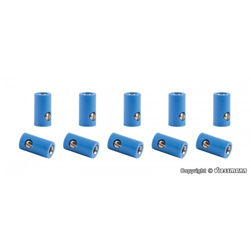 VI6883 Sockets blue, 10 pieces