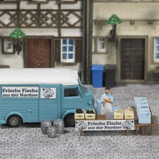 BU7708 Mini World »Market Stand Fish«