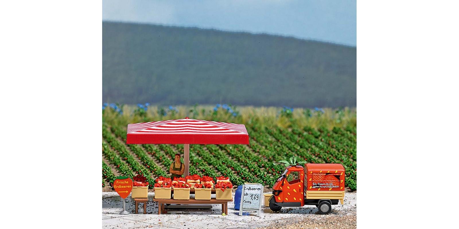 BU7725 Mini World »Strawberry Sales Stand«