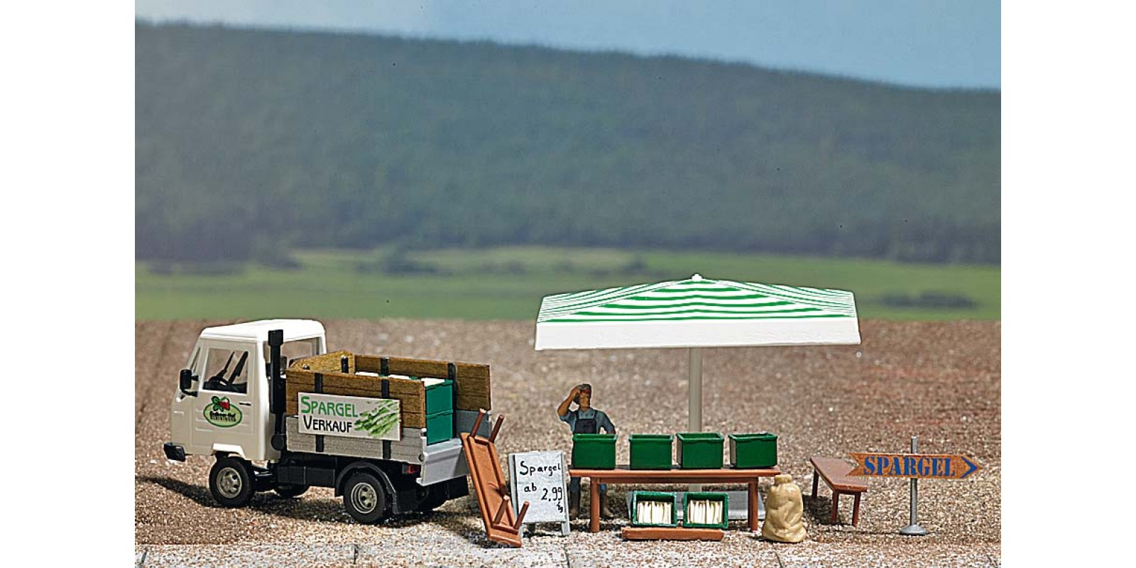 BU7726 Mini world »Asparagus Sales Stand«