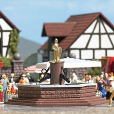 BU7728 Mini world »Marketplace Fountain«