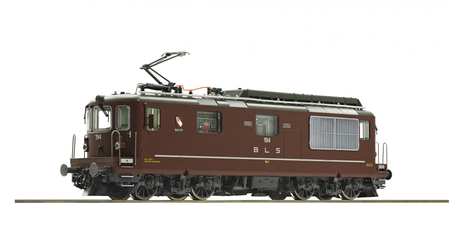 RO73783 Electric locomotive Re 4/4 194, BLS