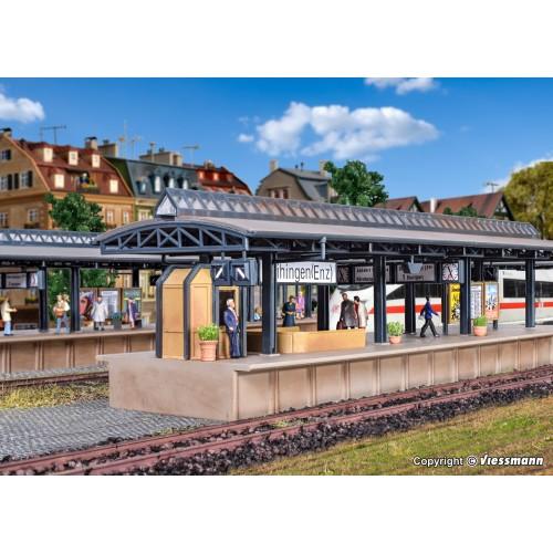 VO43542 H0 Platform ICE Vaihingen, one-piece