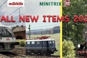 Φθινοπωρινά νέα Märklin-Trix-LGB