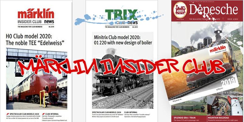 Γίνε ένας Insider Μärklin-Trix-LGB