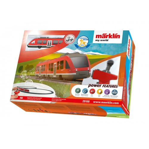 "29100  Märklin my world – ""LINT Commuter Train"" Starter Set."