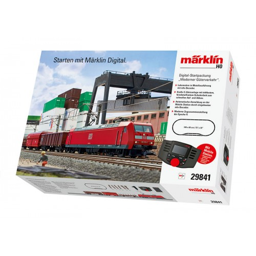 "29841 ""Modern Freight Service"" Digital Starter Set. 230 Volts. NEW ITEM 2015."