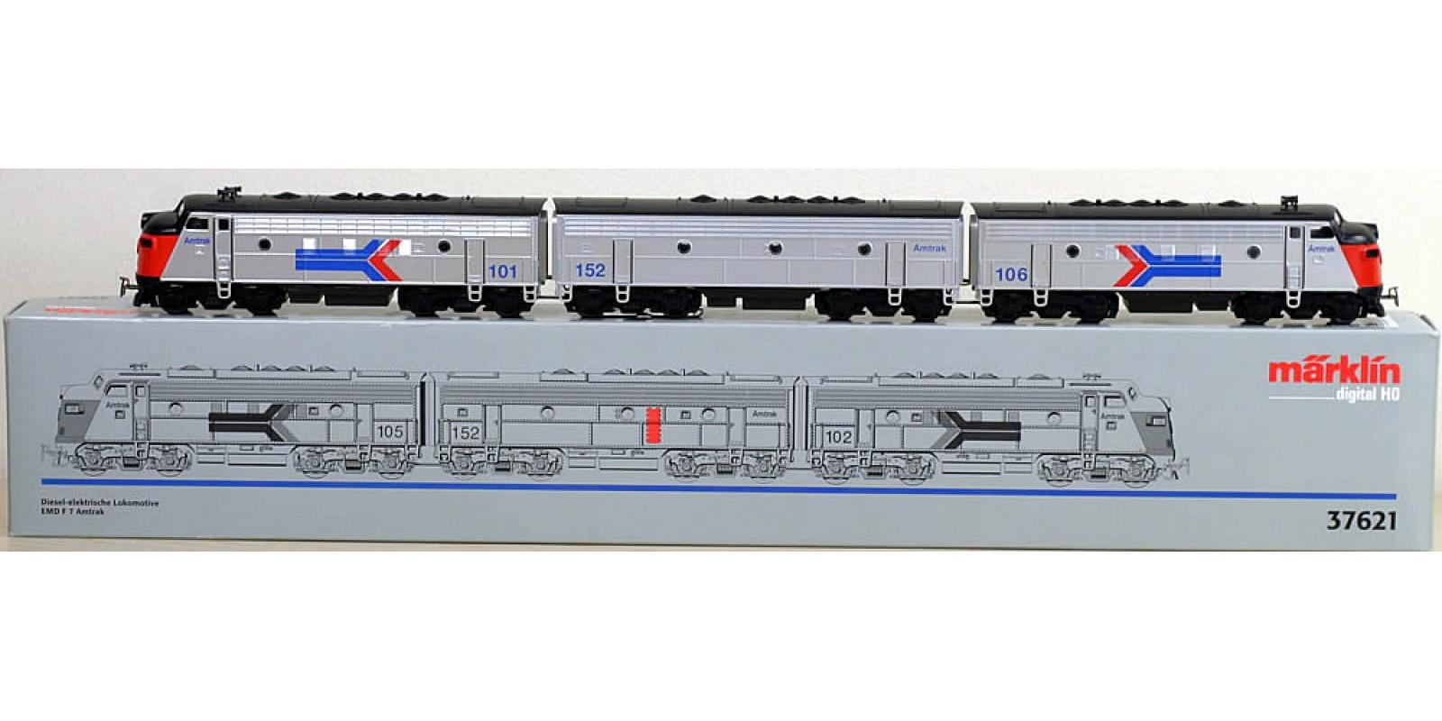 37621 Diesel Electric Locomotive class F7 AMTRAK