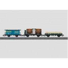 44140 Freight Car Set. Sml, Weinfaßwagen, Litera H, HO