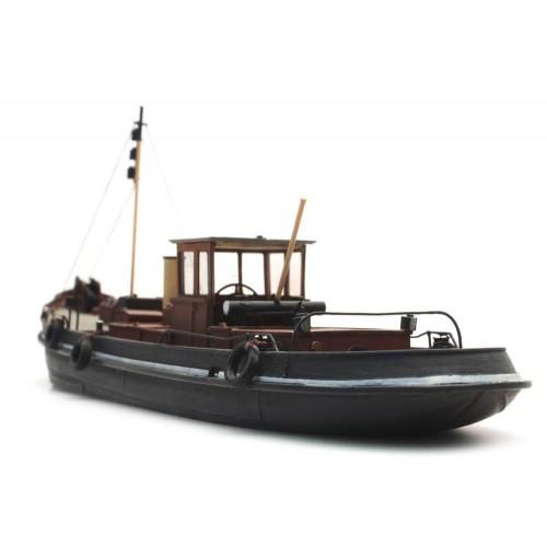 AR50.103 Canal steam tug - resin kit - 1:87