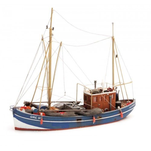 AR50.114 Crabbing cutter waterline - resin kit - 1:87