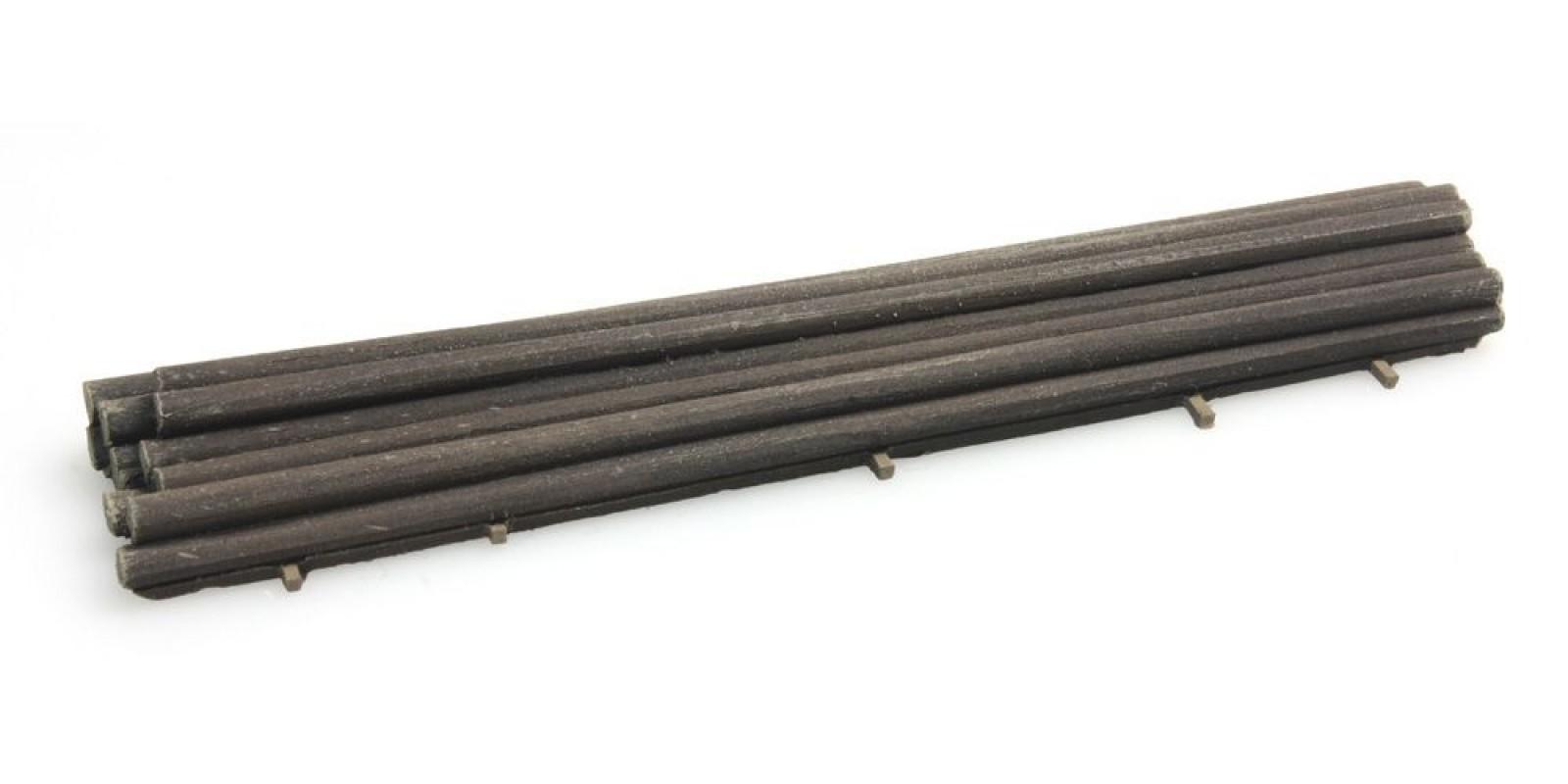 """AR487.801.22 Cargo """"piles"""" for DAF single axle trailer"""
