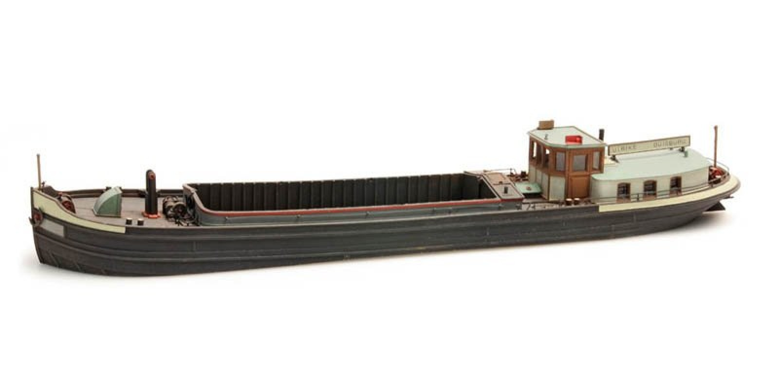 AR50.104 120-ton Rhine river barge - resin kit - 1:87