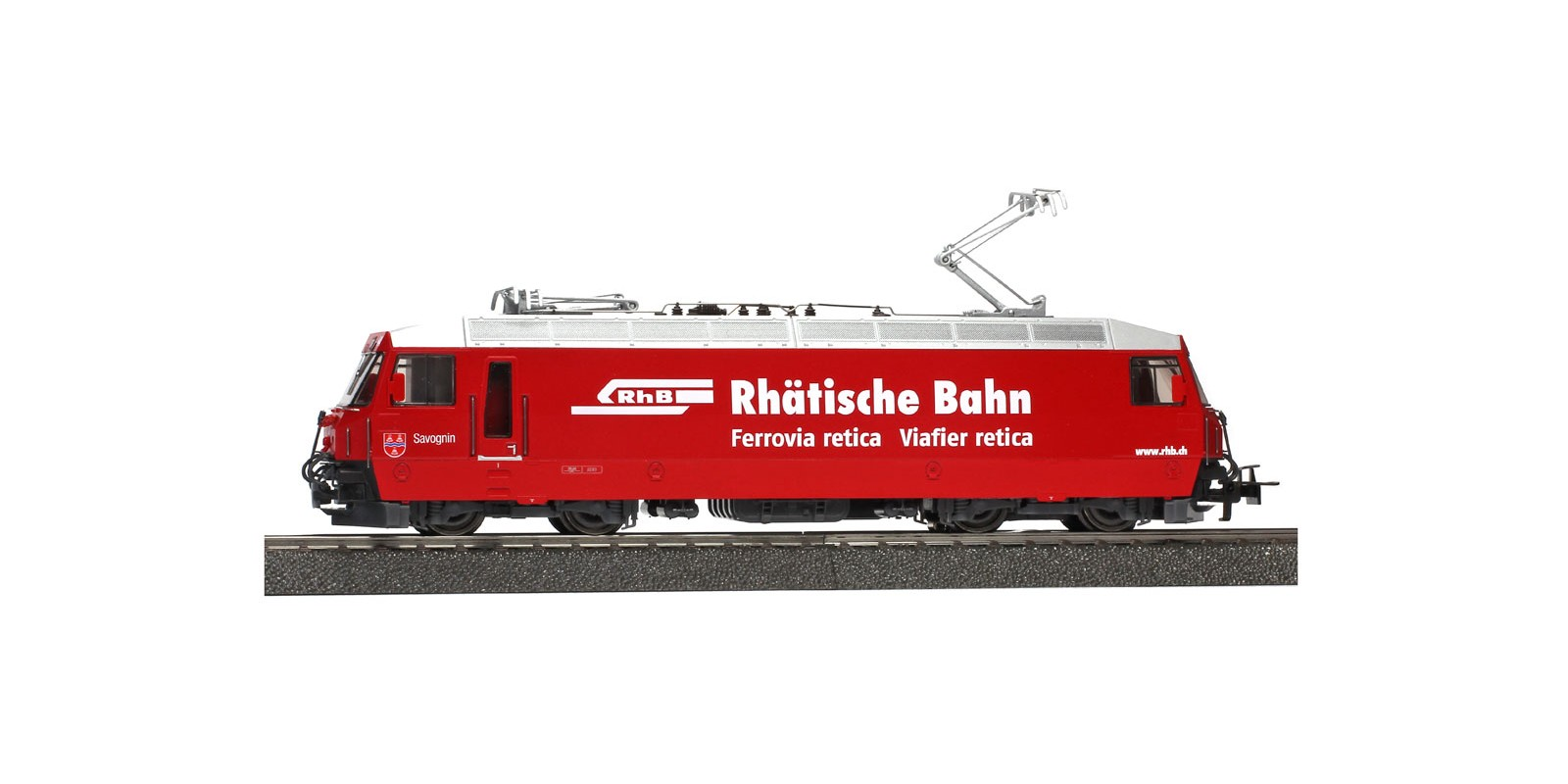BM1459174 Electric locomotive Ge 4/4 III 644 of the RhB, epoch V, AC sound