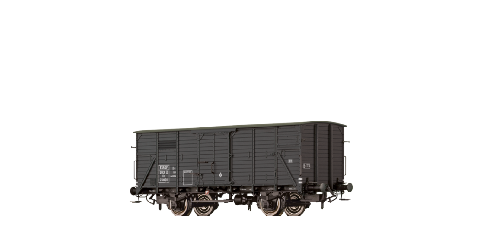 BR49726 Covered Freight Car Kf2 SNCF