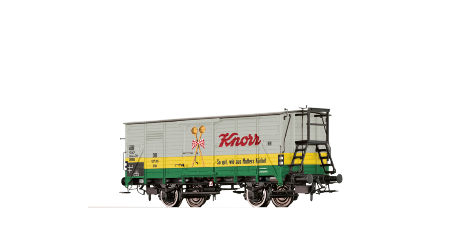 "BR49732 Covered Freight Car G10 ""Knorr"" DB"