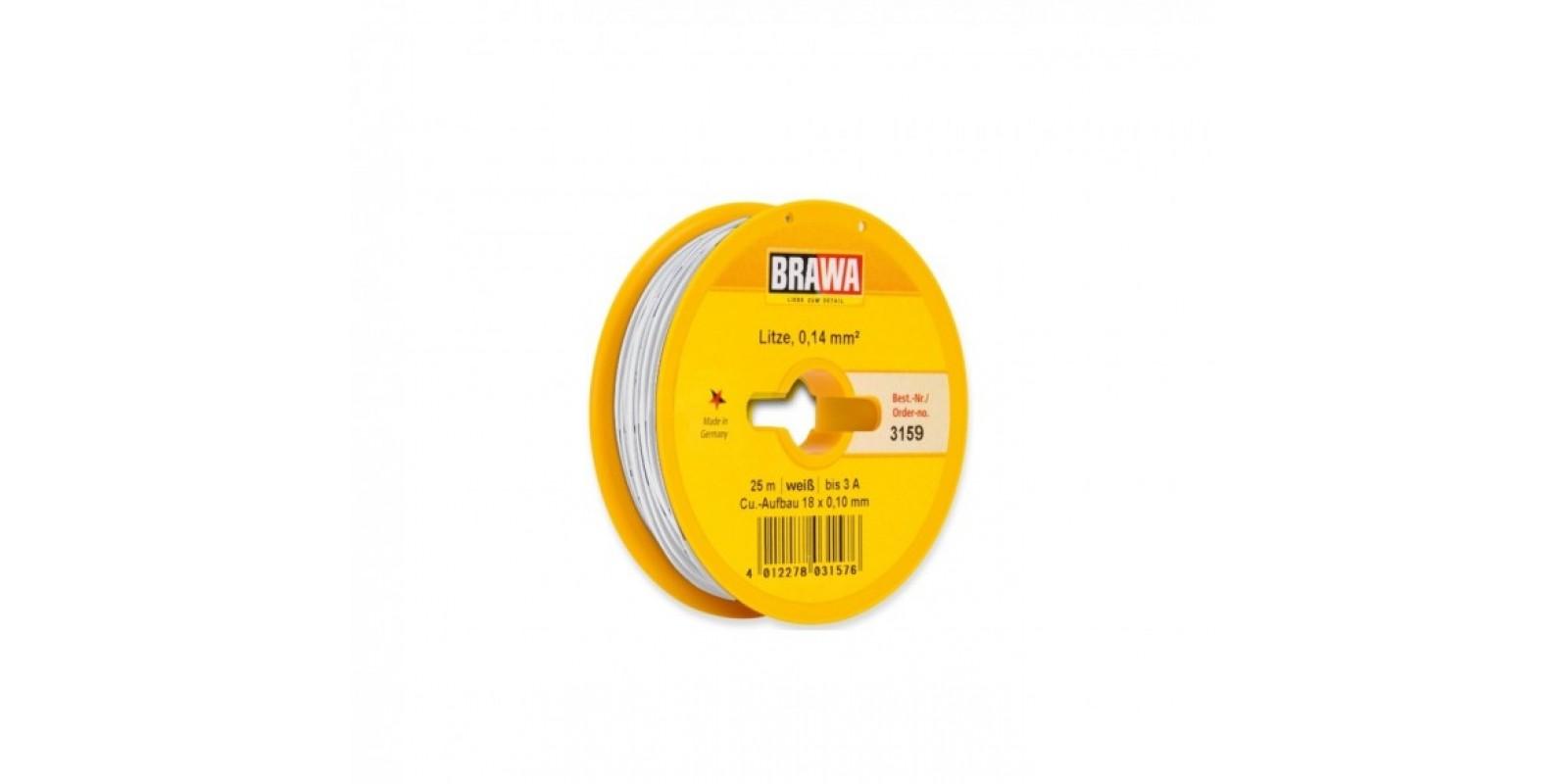 BR3159 WIRE, 0.14 MM², WHITE