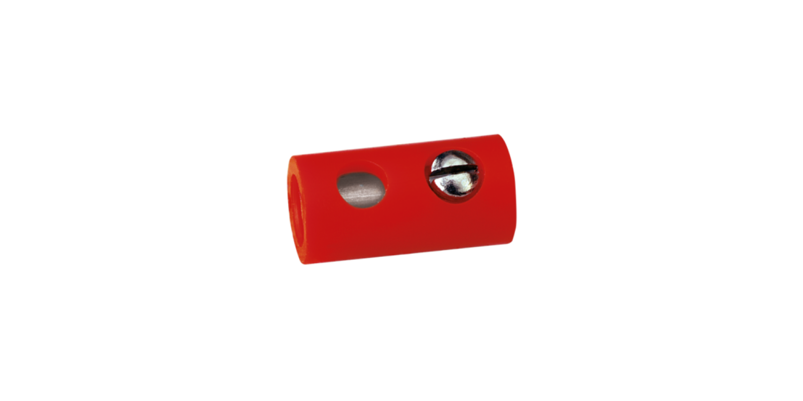 BR3042 SOCKETS, ∅ 2.5 MM, RED