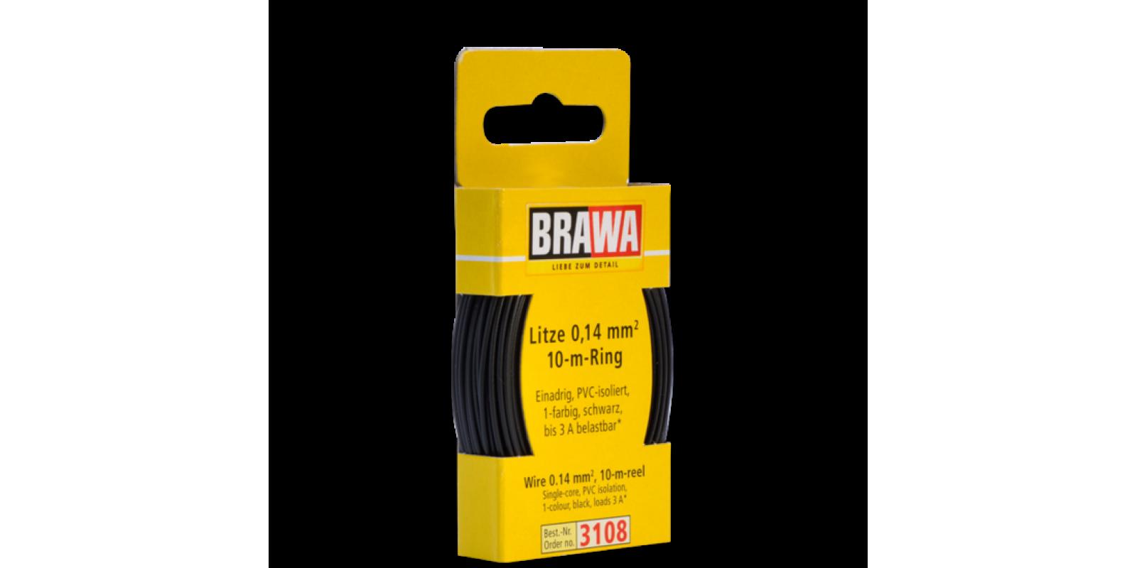 BR3108 WIRE 0.14 MM², BLACK