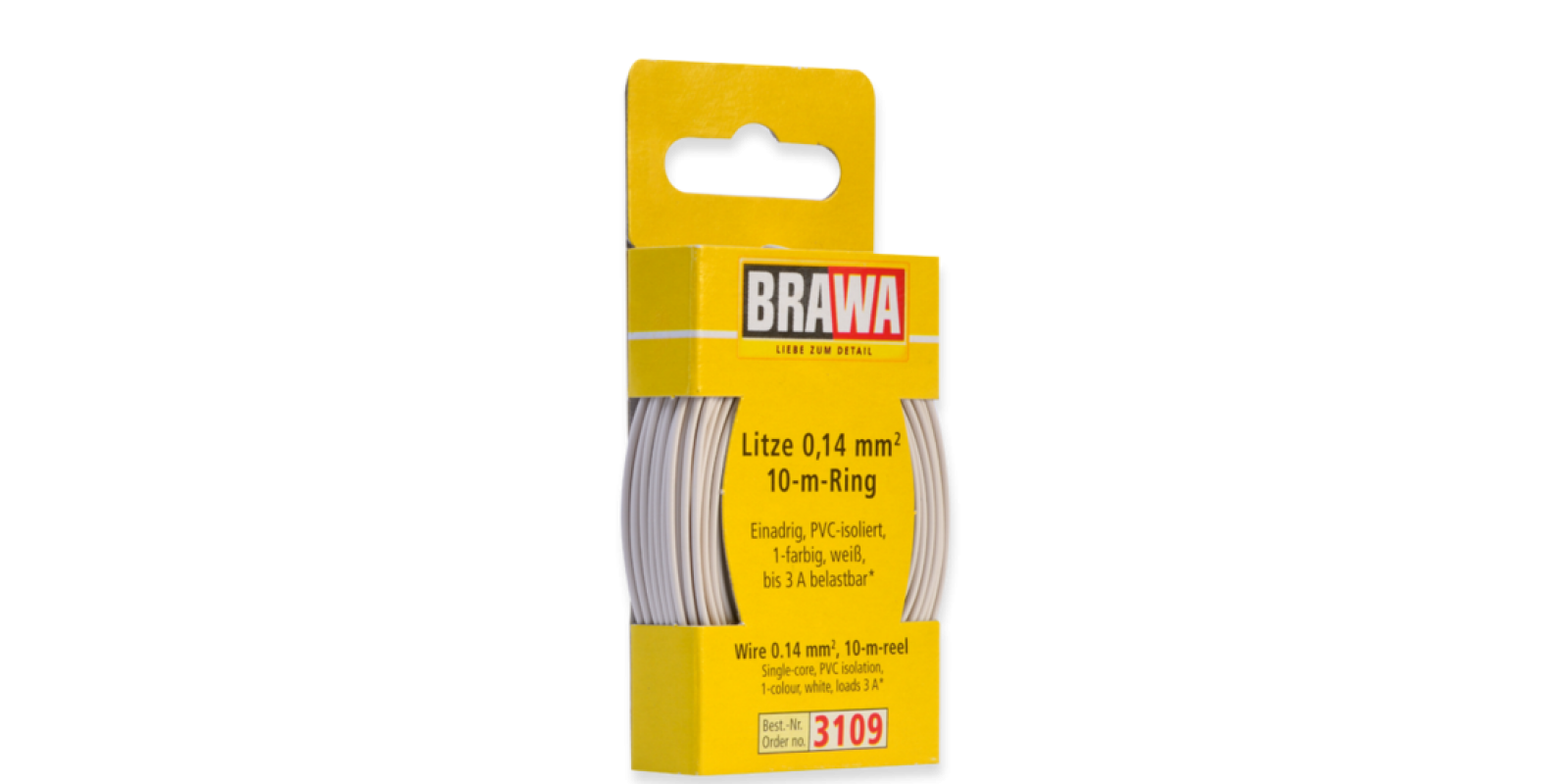 BR3109 WIRE 0.14 MM², WHITE