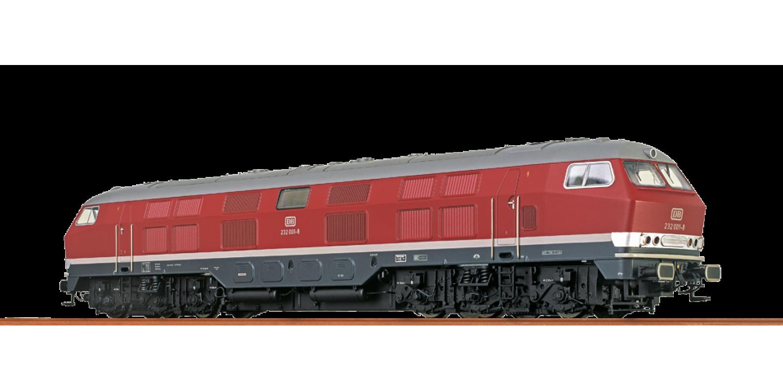 Br41323  Diesel Locomotive BR 232 DB