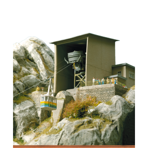 BR6341 Building Set for Mountain and Valley Stations of the Nebelhorn Cable Car