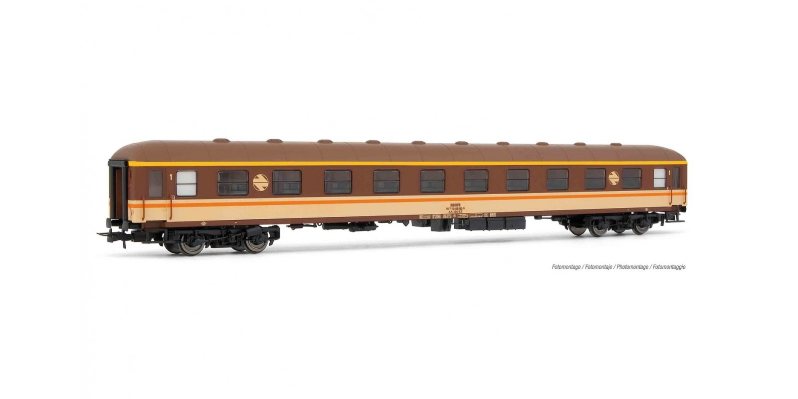 "ET18039 RENFE, AA-8000, ""Estrella"" livery, 1st class, period IV"
