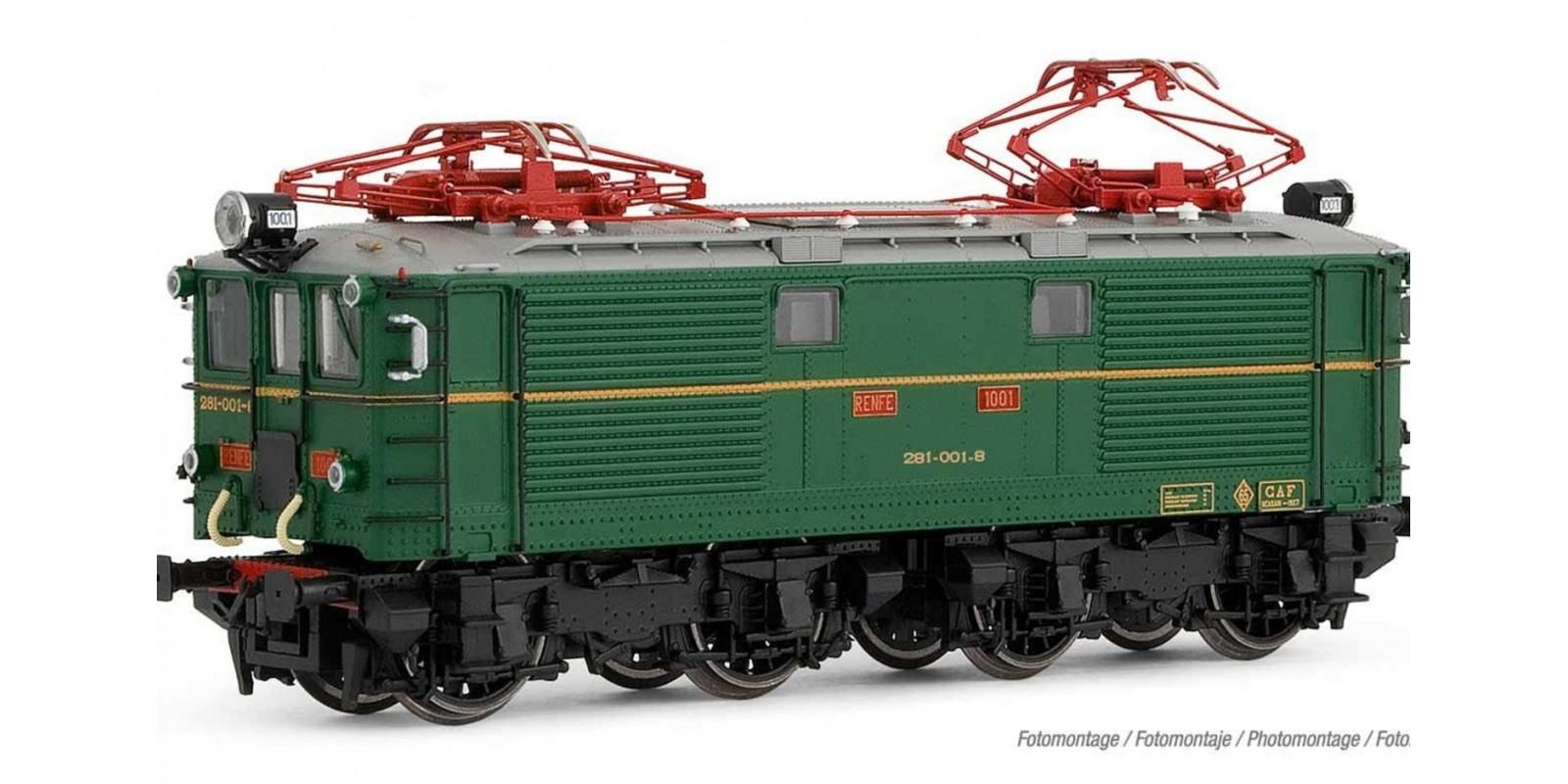 ET2764S Locomotora 281 con UIC Epoca IV DCC Sound