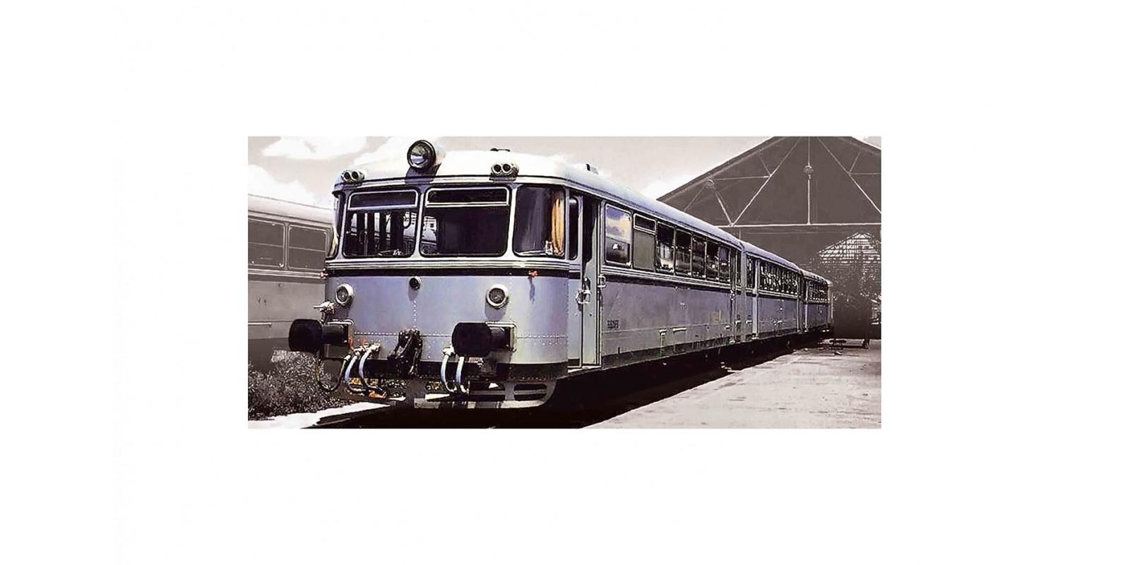 "ET3621 RENFE, 4-unit diesel railcar ""Ferrobus"", class 591.400, period III-IV"