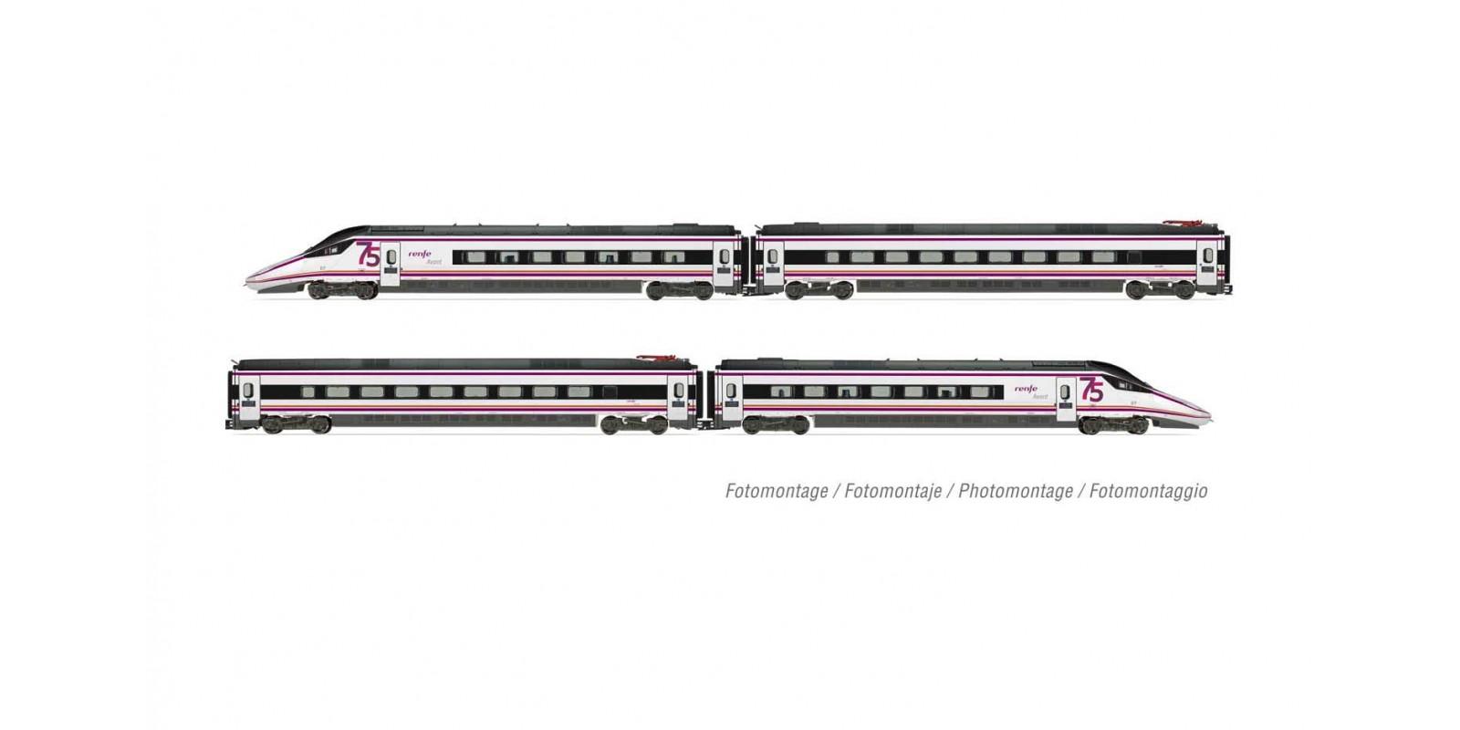 ET10201D RENFE, S-114 set 4 pcs 75th anniversary DCC