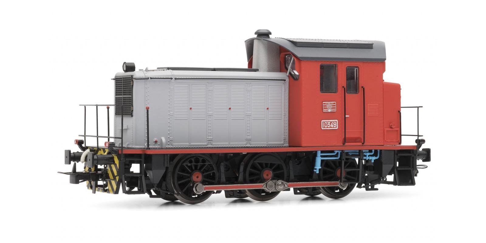 ET3814 Locomotora 303 (10349) Roja y gris