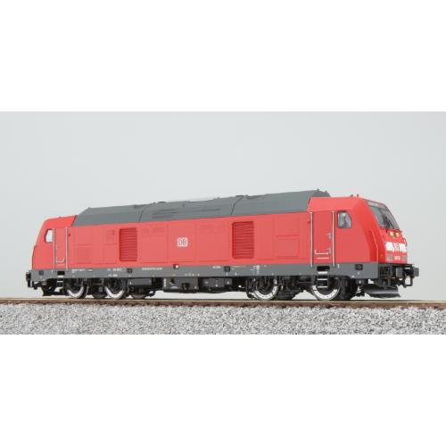 ES31094 Diesel loco, 245 008, DB, red, Ep VI, Sound+Smoke, DC/AC